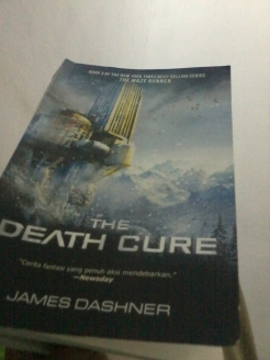 novel the death cure james dashner